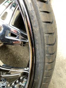 32インチタイヤ タイヤサイズ
